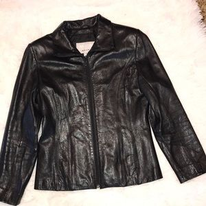 Wilson's leather jacket size S⭐️⭐️